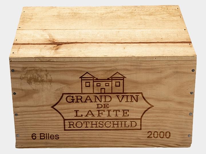Lafite Rothschild; Pauillac; 2000