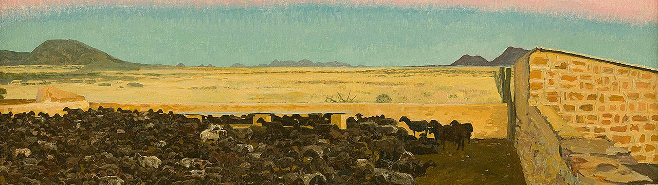 The wide Namibian horizons of Adolph Jentsch come into view on Strauss & Co's May Auction
